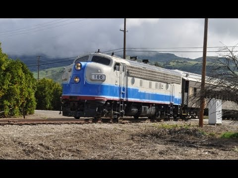Fillmore and Western Railway Excursion Trains: Steam Locomotive 14, F7A, and more
