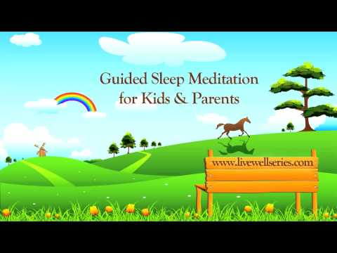 Guided Sleep Meditation for Kids and Parents | Relaxation Techniques for Anxiety