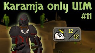 Karamja Only UIM - I used over 150.000 Bronze Knives to get this | #11