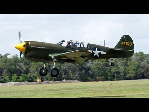 "AVG ""Flying Tigers"" Reunion - TP-40 Flights"