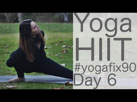 Yoga HIIT Yoga fix 90 Day 6 With Fightmaster Yoga
