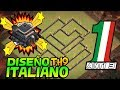 DISEÑO DE GUERRA ITALIANO ANTI 3 | TH9 - TOWN HALL 9 + REPLAYS DEFENSE | Rogersslike Clash of Clans