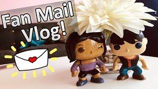 YOUR ART IS BEAUTIFUL! | Fan Mail Vlog! 💜
