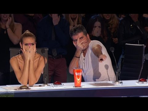 America's Got Talent 2016 Dan Meyer The Craziest Sword Swallower Full Audition Clip S11E05