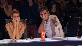 america s got talent 2016 dan meyer the craziest sword swallower full audition clip s11e05