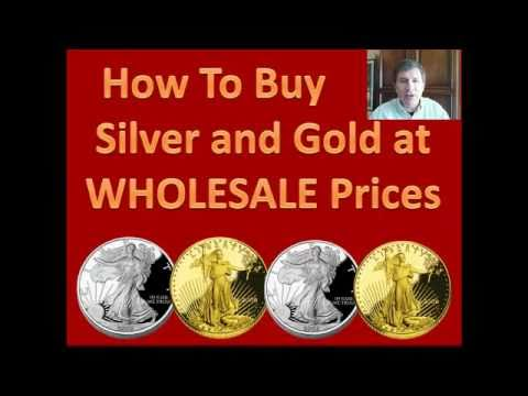 Buy Silver & Gold Bullion At Wholesale, No Brokers License R