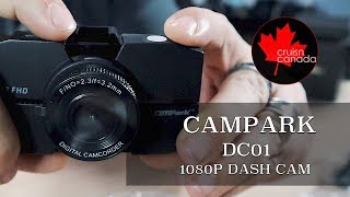 Campark DC01 1080p DashCam | How Good is This Inexpensive Dash Cam?