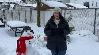 """""""A Few Minutes at Meucci's"""" Episode 5 -- Michaelangelo and the Snowman"""