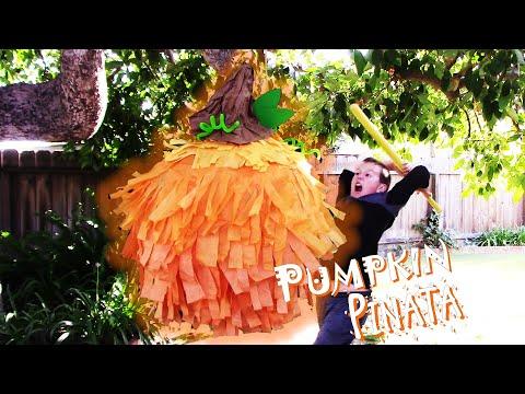 Pumpkin Pinata | Paper Mache | DIY
