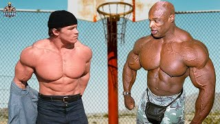RONNIE COLEMAN VS ARNOLD SCHWARZENEGGER - MONSTER VS HUMAN MOTIVATION