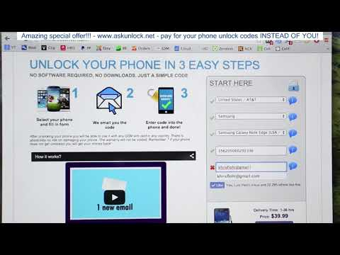 How To Unlock Samsung Galaxy Note Edge - Unlock Samsung Galaxy Note Edge for any gsm carrier