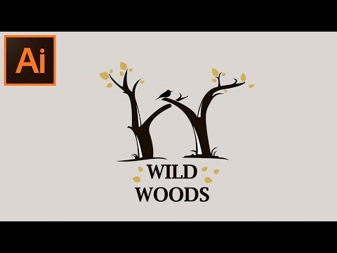 How to Create a Beautiful Woods Letter Illustration in Adobe Illustrator CC