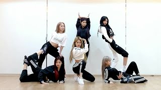 Download [EVERGLOW - LA DI DA] dance practice mirrored