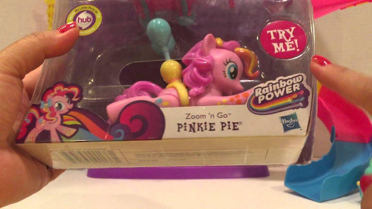 (美國玩具介紹)彩虹小馬 雲寶。柔柔。趴著的碧琪&迷你珍奇 My Little Pony blind bag. Pinkie Pie. Rainbow Dash & Fluttershy ...