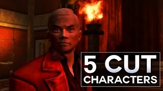 Fallout: New Vegas - 5 Cut Characters