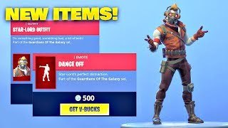 *NEW* STAR-LORD SKIN & DANCE OFF EMOTE! Fortnite ITEM SHOP [April 29, 2019] | Fortnite Battle Royale