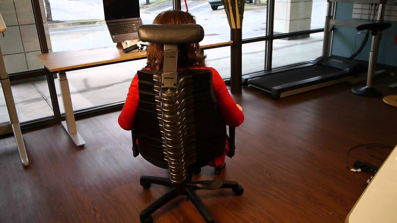 Anthro Ergonomic Verte Chair Dark Red Sashes Rfm Seat Youtube Ergoprise Ergonomics
