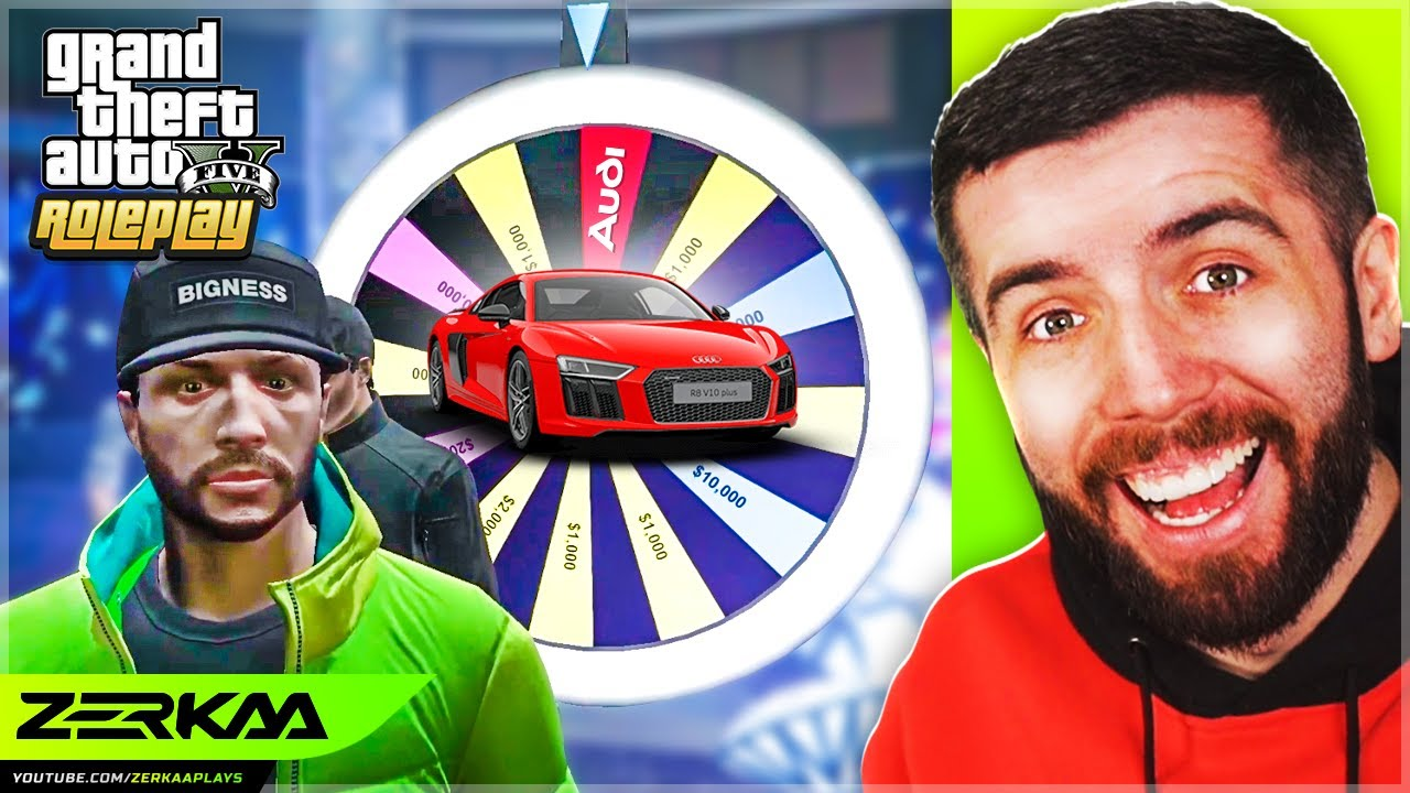 I Won The Audi R8 At The Casino In GTA 5 RP?