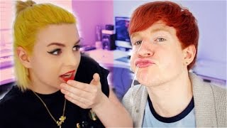 gargle the song challenge   lukeisnotsexy emma blackery