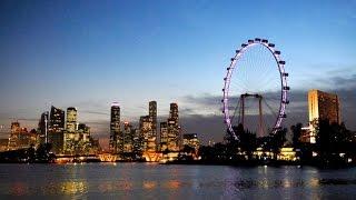 Singapore - день первый. Самое большое в мире колесо обозрения.(, 2015-01-10T19:24:37.000Z)