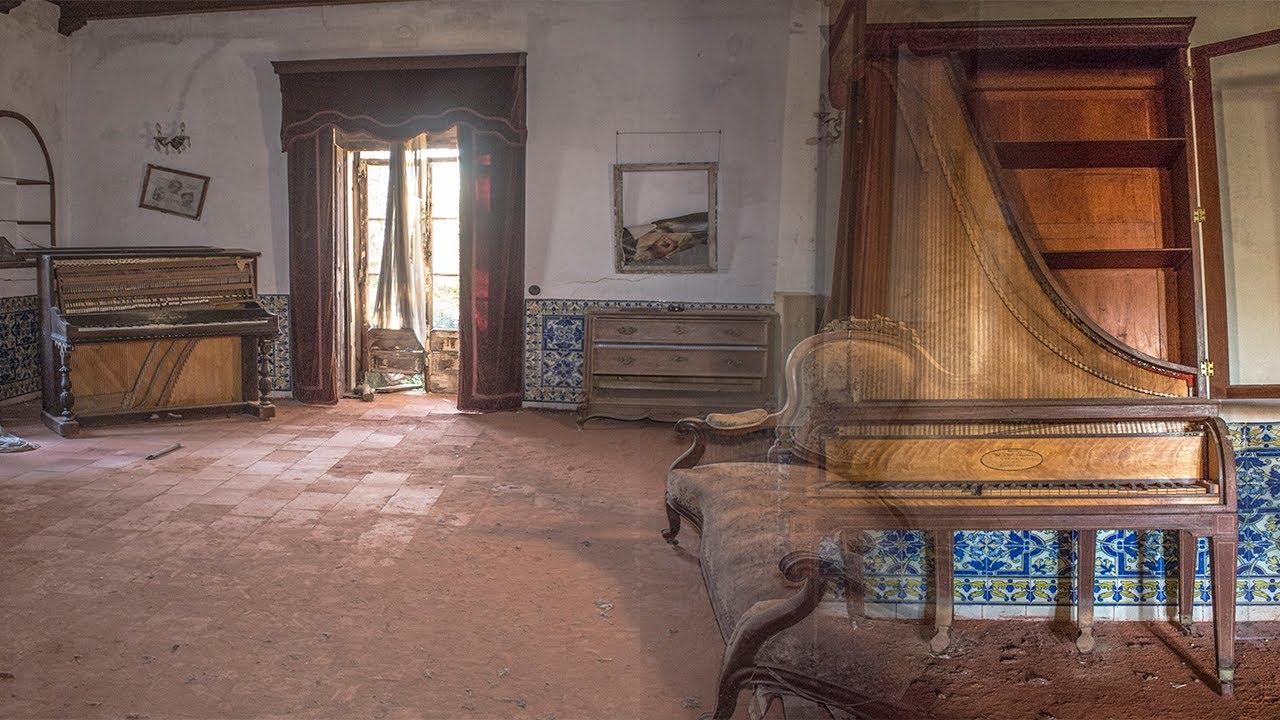 La CASA ABANDONADA del MAESTRO PIANISTA- Encontramos PIANO ALUCINANTE
