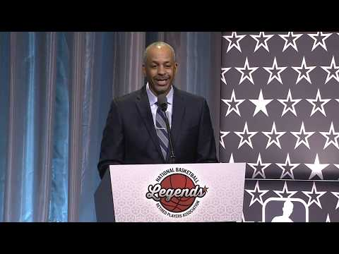 Dell Curry Named Hometown Hero! (2019 Legends Brunch ...