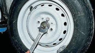 видео Ступица переднего колеса жигули. 3.4.7 Ступица переднего колеса и поворотный кулак