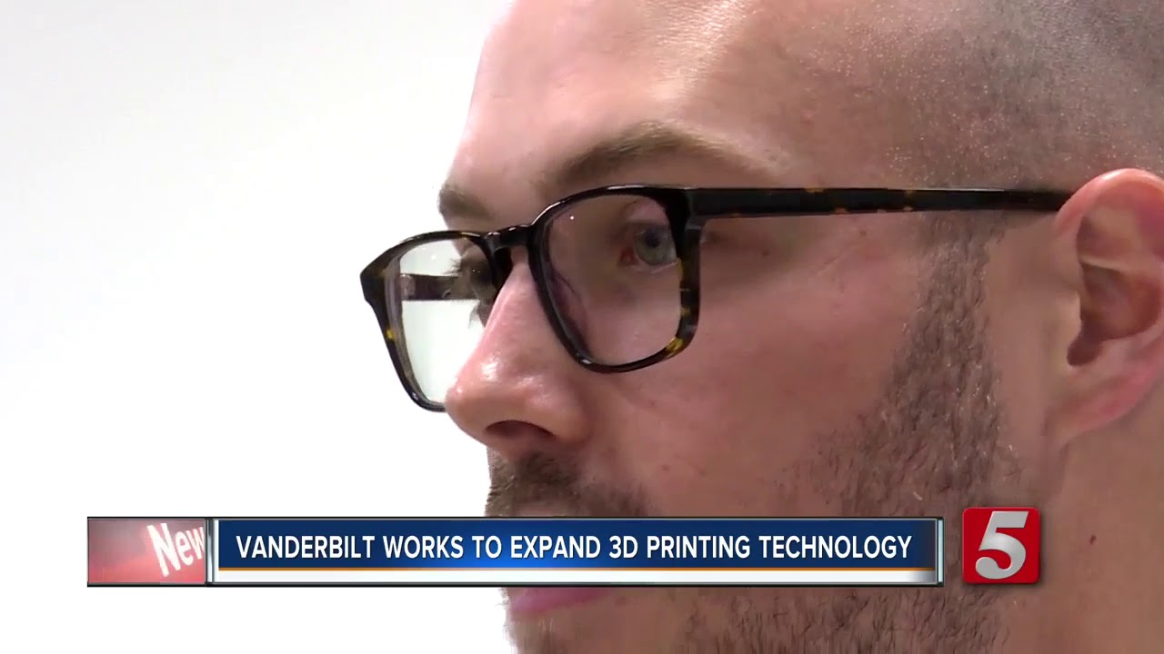 Vanderbilt University Researchers Using 3D Printers To Make Materials 'Intelligent'