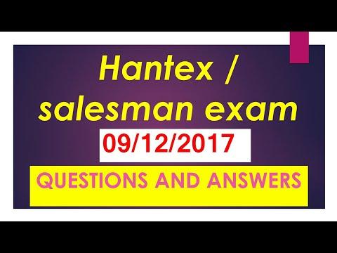 Hantex /salesman psc exam on 09/12/2017, previous year's psc questions,psc questions 2017