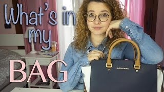 What's in my BAG?! | About Giulia