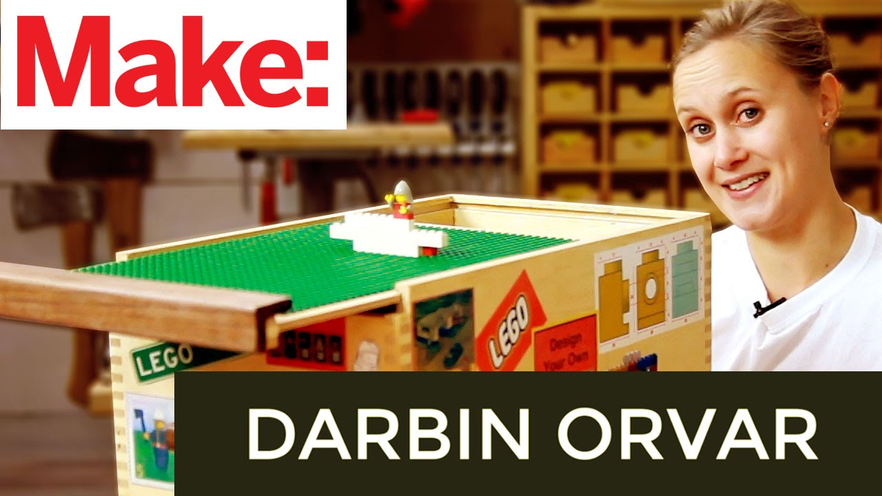 sc 1 st  YouTube & Darbin Orvar: DIY Lego Storage Box - YouTube
