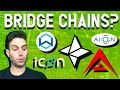 Best Interoperable Cryptos? These blockchains talk to each other $AION $ARK $NAS $ICX $WAN