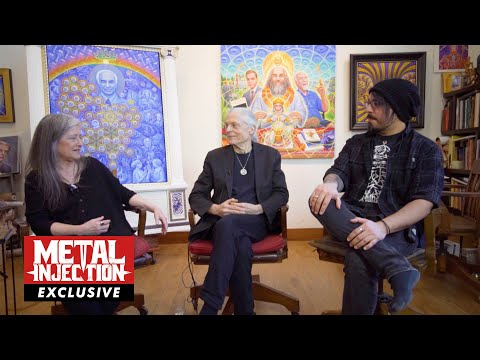 COSM 1: Alex and Allyson Grey on Visionary Artwork & The Mystical Experience  | Metal Injection