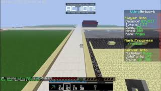 minecraft OP prisión -  el pico chetado (excavation 3), y todo mi dinero🤑