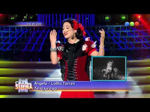 Angela Torres es Lolita Torres - Tu Cara Me Suena 2014