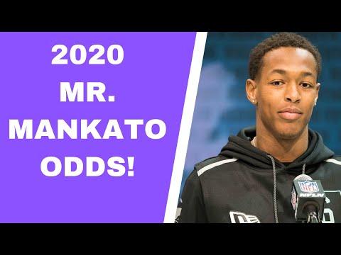 2020 Vikings Mr. Mankato Odds!