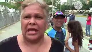 Vecinos del sector Santa Fe protestaron por falta de agua
