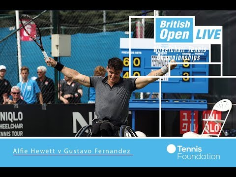 Alfie Hewett v Gustavo Fernandez | MS FINAL | British Open Wheelchair Tennis 2017