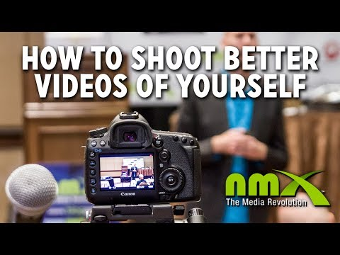 How to Shoot Better Videos of Yourself - NMX 2014 - Caleb Wojcik