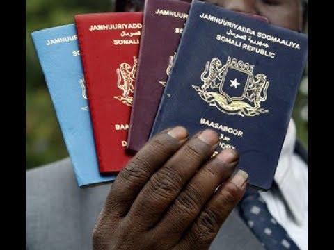 Norway oo aqoonsatay passport-ga Somalia (Wareysi Q2aad)