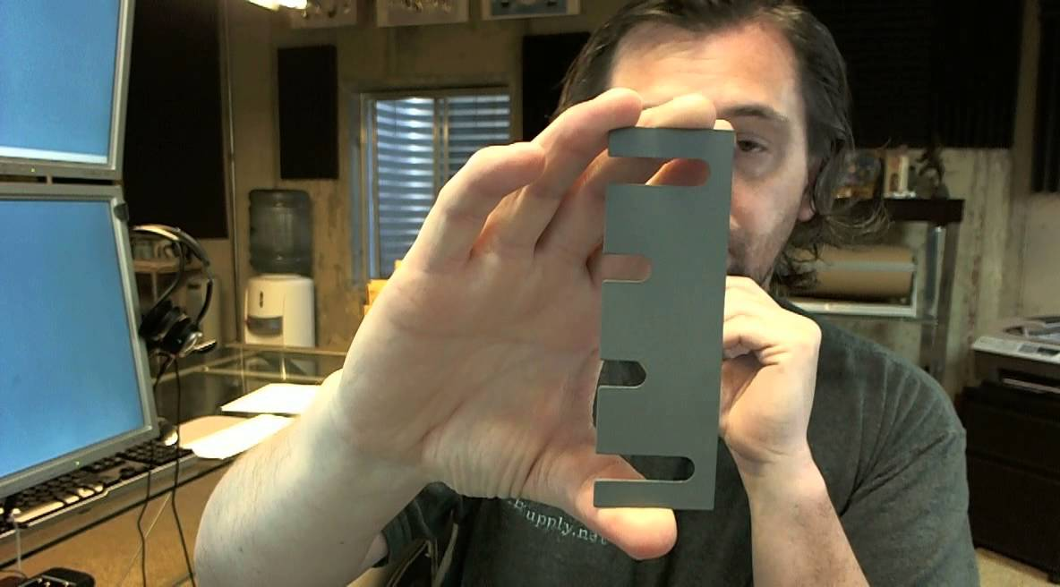 Hager 337A Template Hinge Shim Filler Plate & Hager 337A Template Hinge Shim Filler Plate - YouTube