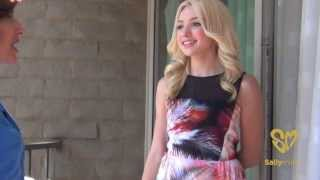 """Sally Miller Meets Peyton List, Star of the Hit Show """"Jessie"""""""