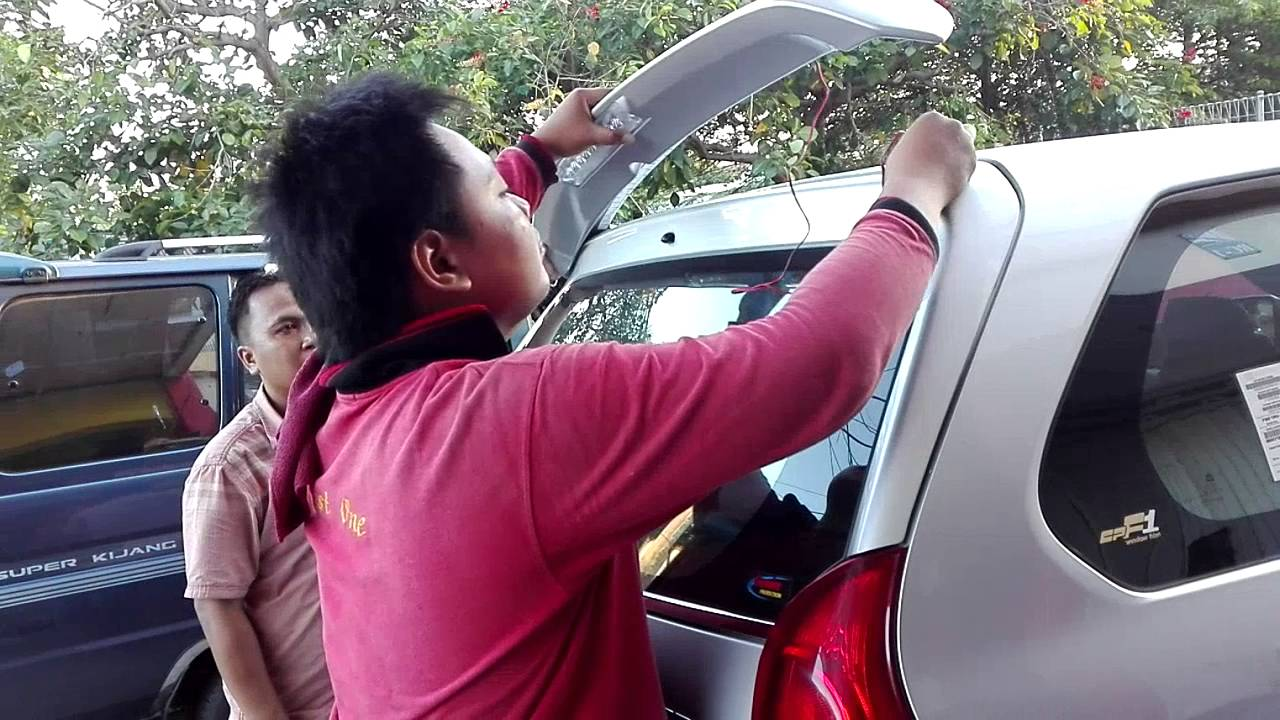 spoiler grand new avanza forum all kijang innova pemasangan xenia di best one variasi mobil 08123508995 wa youtube