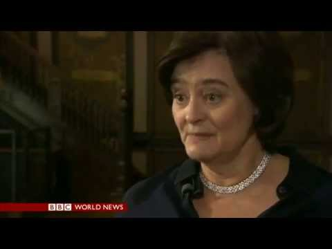 Cherie Blair at the International Council for Women's Business Leadership