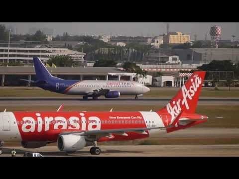 Spotting at Bangkok Don Mueang International Airport:HS-BRD Orient Thai Airlines B737-400 landing