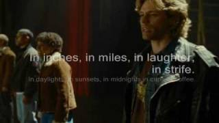 RENT - 01 Seasons of Love w lyrics.wmv