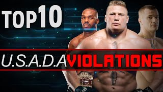 TOP 10 Usada Violations So Far...  (Drug Test Failures)