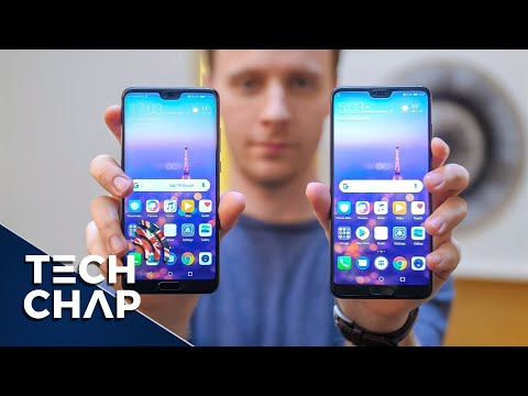 Huawei P20 Pro - Hands-On Review! | The Tech Chap