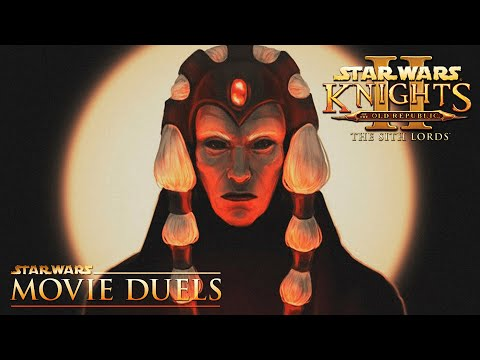 The Lord of Betrayal (Movie Duels Remastered) Darth Traya vs the Exile