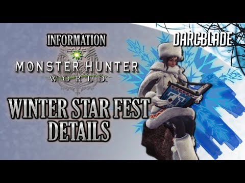 WINTER STAR FEST Details : Monster Hunter World